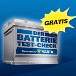 Batteriecheck Varta gratis